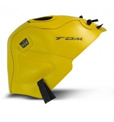 Copriserbatoio Bagster per Yamaha TDM 900 02-13 in similpelle giallo surf