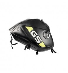 Copriserbatoio Bagster per BMW R1150GS Adventure 02-06 in similpelle nero e giallo