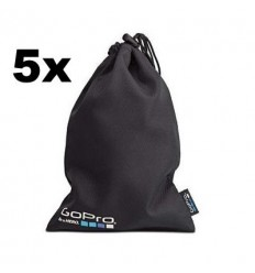 Set di 5 sacchetti GoPro Bag Pack porta accessori minicarere Hero
