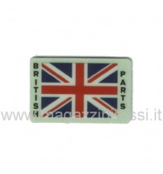 Adesivo Import bandierina British Parts