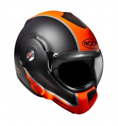 Casco Roof Desmo grafica Flash arancio e antracite