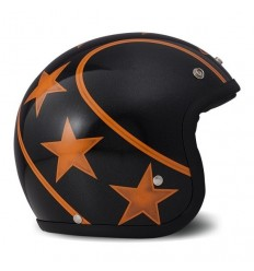 Casco DMD Helmets serie Vintage grafica Stunt Orange