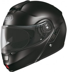 Casco Shoei Neotec apribile con accessori nero lucido
