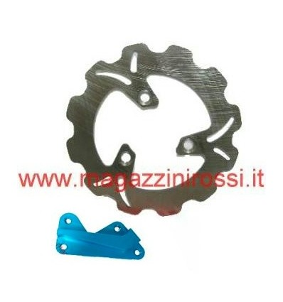 Kit disco freno Wave magg. 190mm blu Honda Dio ZX-GP-SC-Z4