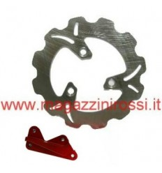 Kit disco freno Wave magg. 190mm rosso Honda Dio ZX-GP-SC-Z4