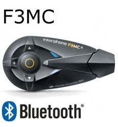 Interfono da casco Bluetooth Cellular Line F3MC singolo