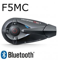 Interfono da casco Bluetooth Cellular Line F5MC singolo