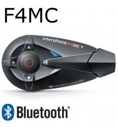 Interfono da casco Bluetooth Cellular Line F4MC singolo