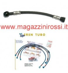 Kit Fren Tubo Yamaha T-Max 500 04-07 carbonio/ergal all black