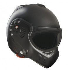 Casco Roof Boxer V8 Full Black nero opaco