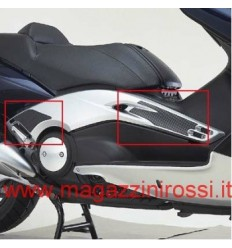 Protezioni adesive laterali Yamaha T-Max 500 01-07 carbon look