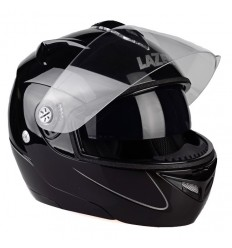 Casco Lazer Helmet apribile Paname nero metal con Bluetooth incorporato
