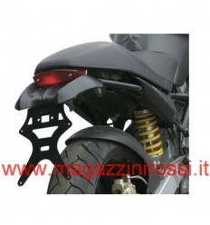 Portatarga nero Ducati Monster