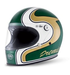 Casco Premier Trophy grafica M Green