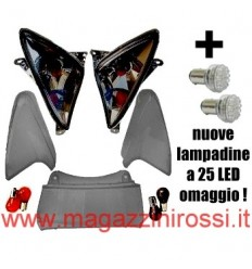 Kit vetri completo ONE Tuning Lexus fumè (ant. + post.) T-Max 500 01-07