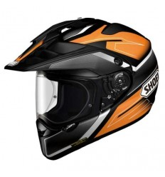 Casco Shoei enduro Hornet ADV Seeker TC8 nero e arancio