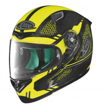 Casco X-Lite X802RR Ultra Carbon grafica Shiny Mesh giallo