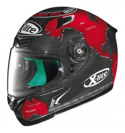 Casco X-Lite X802RR Ultra Carbon grafica Checa