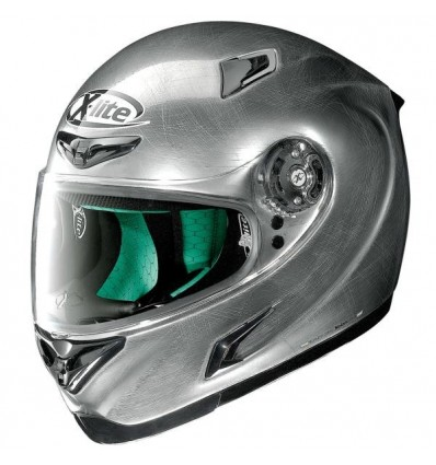 Casco X-Lite X802RR Start monocolore scratched chrome