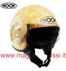 Casco Roof Bamboo in vera fibra naturale