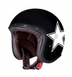 Casco Caberg Freeride Star superleggero in fibra bianco e nero