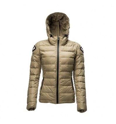 Piumino moto da donna Blauer Easy Winter Woman beige