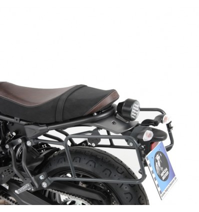 Coppia telai laterali antracite Hepco & Becker Lock It per Yamaha V Max fino al 2002
