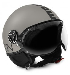 Casco Momo Design Fighter EVO mastice frost e nero