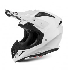 Casco Airoh enduro Aviator 2.2 grafica Color bianco