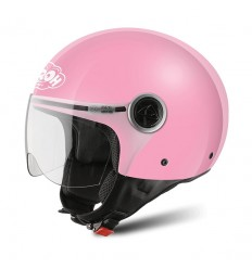 Casco Junior Jet Airoh Free Lady pink gloss