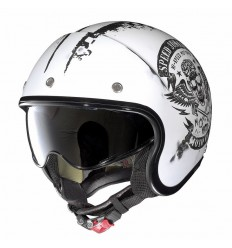 Casco Nolan N21 Speed Junkies flat white