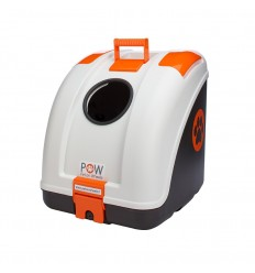 Baule posteriore POW Pet On Wheel porta animali per moto e scooter