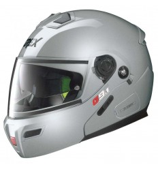 Casco Grex G9.1 Evolve apribile Kinetic argento metal