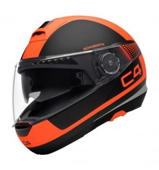 Casco apribile Schuberth C4 grafica Legacy Orange
