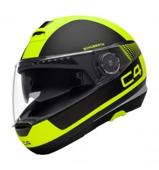Casco apribile Schuberth C4 grafica Legacy Yellow