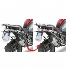 Kit di attacco Givi per BMW R1200 GS 13-17 specifico per portavaligie PL5108CAM