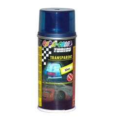Vernice spray Dupli Color trasparente blu