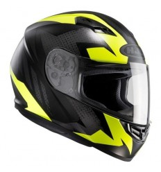 Casco integrale HJC CS-15 Treague nero e giallo