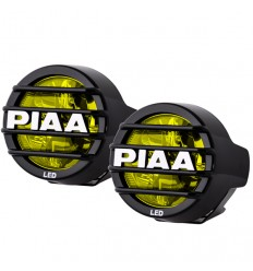 Coppia di fari supplementari PIAA LP530 a led gialli