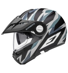 Casco apribile Schuberth E1 Rival Grey