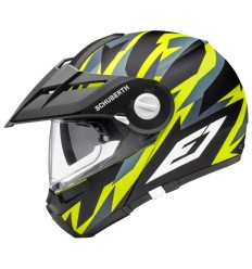 Casco apribile Schuberth E1 Rival Yellow