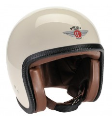 Casco Davida Speedster V3 grafica ZNut Brown crema