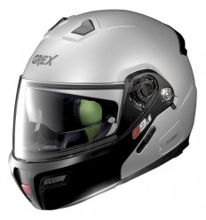 Casco Grex G9.1 Evolve apribile Couplé flat silver
