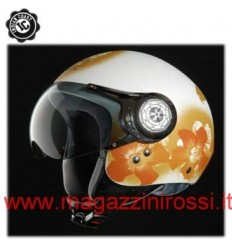 Casco Indian Coast grafica Summertime beige opaco