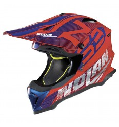 Casco off-road Nolan N53 Whoop corsa red