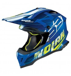 Casco off-road Nolan N53 Whoop denim blue