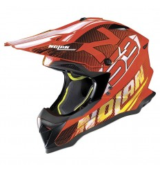 Casco off-road Nolan N53 Whoop led orange