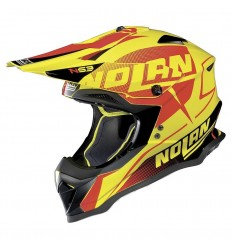 Casco off-road Nolan N53 Sidewinder led yellow