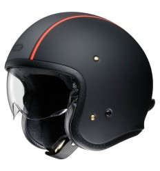 Casco Shoei J-O con visiera a scomparsa Carburettor nero