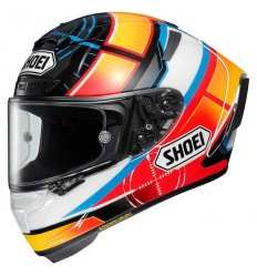 Casco integrale Shoei X-Spirit 3 grafica DE ANGELIS TC-1
